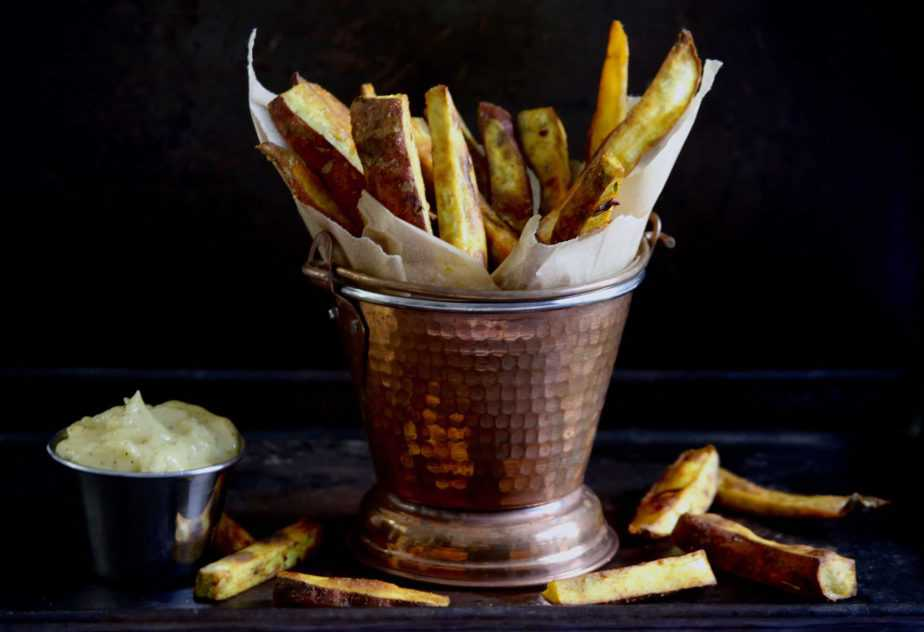 "Sweet Potato Oven ""Fries"""