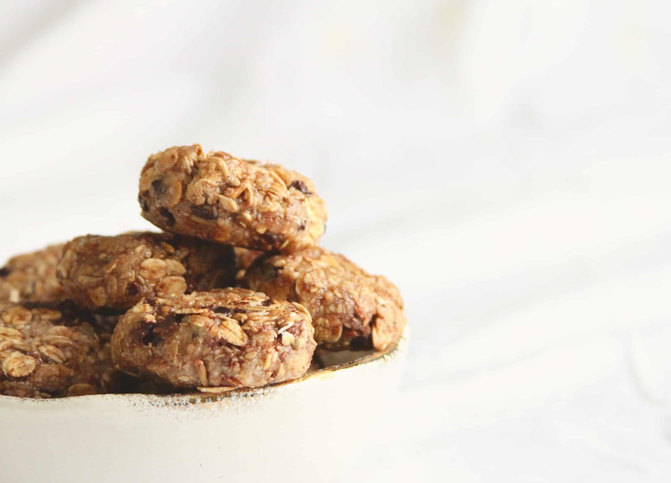 No Bake Almond Cookies