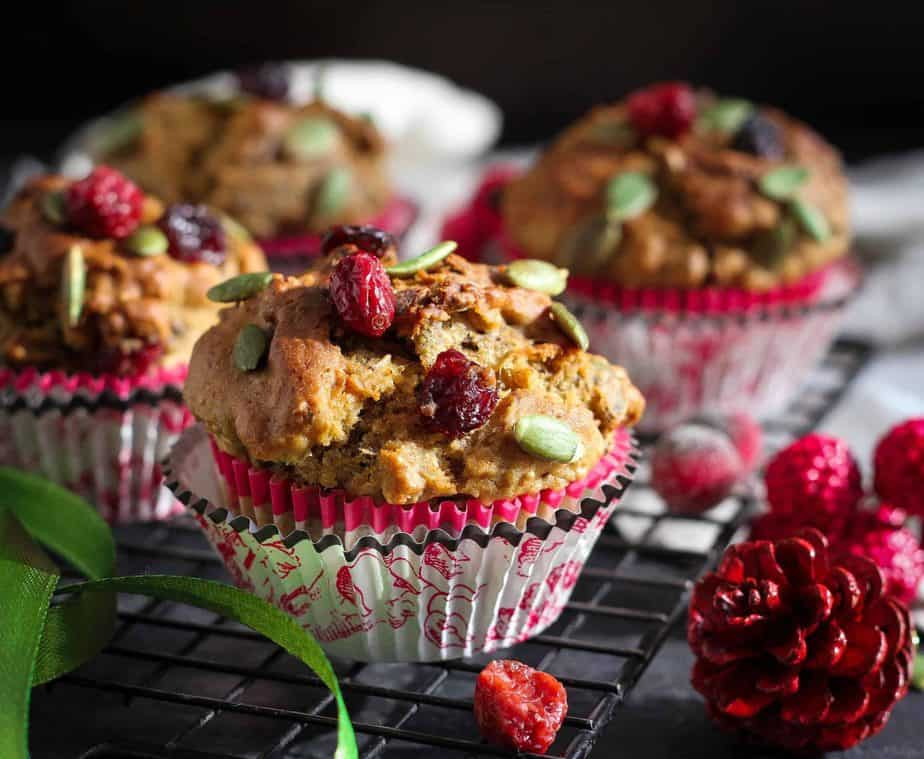 Banana Granola Muffins healthy,wholegrain,baking, breakfast, snack, easy recipe, refined sugarfree