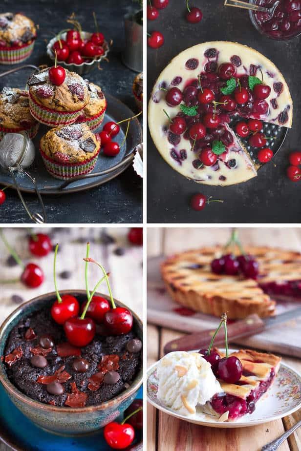 10 Easy Fresh Cherry Dessert Recipes