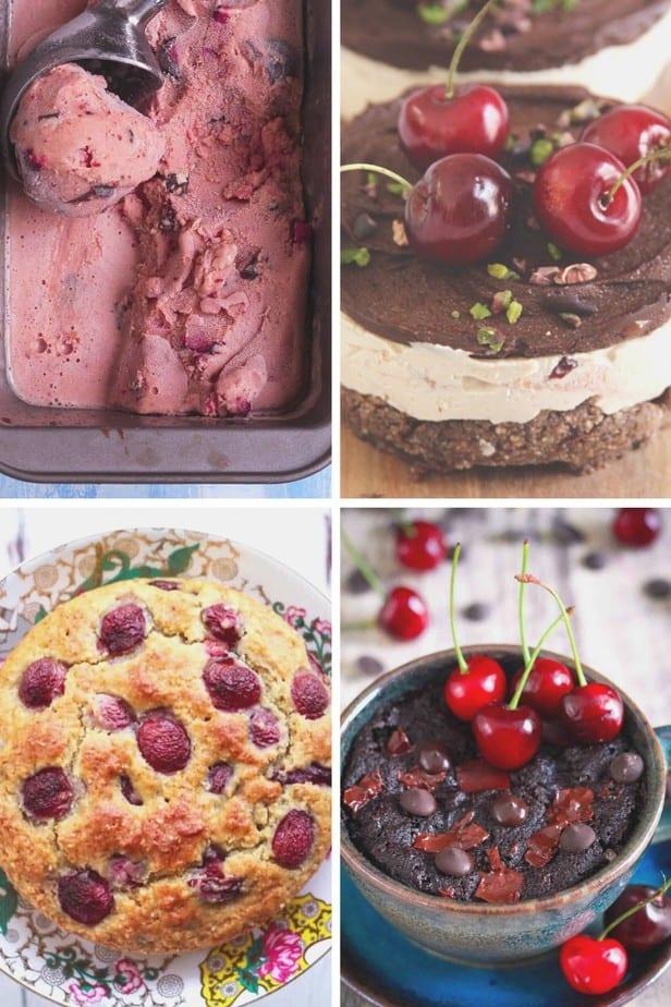 6 Easy Fresh Cherry Dessert Recipes