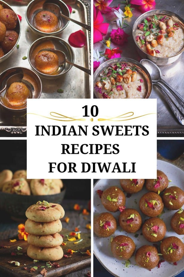 10 Diwali Sweets Recipes Cover