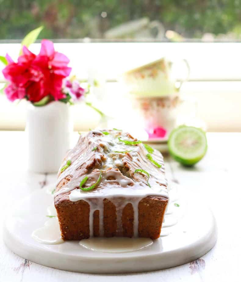 Gondhoraj Poppyseed Cake easy baking lemon lebu