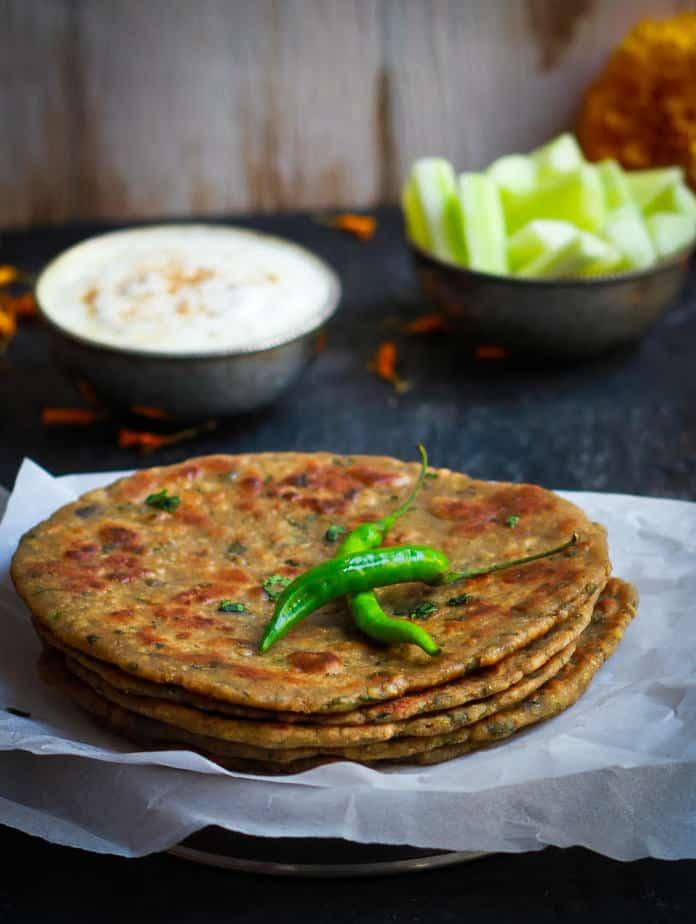 Kuttu Aloo Paratha | vrat ka Khana | Indian fasting food | glutenfree vegetarian healthy recipe