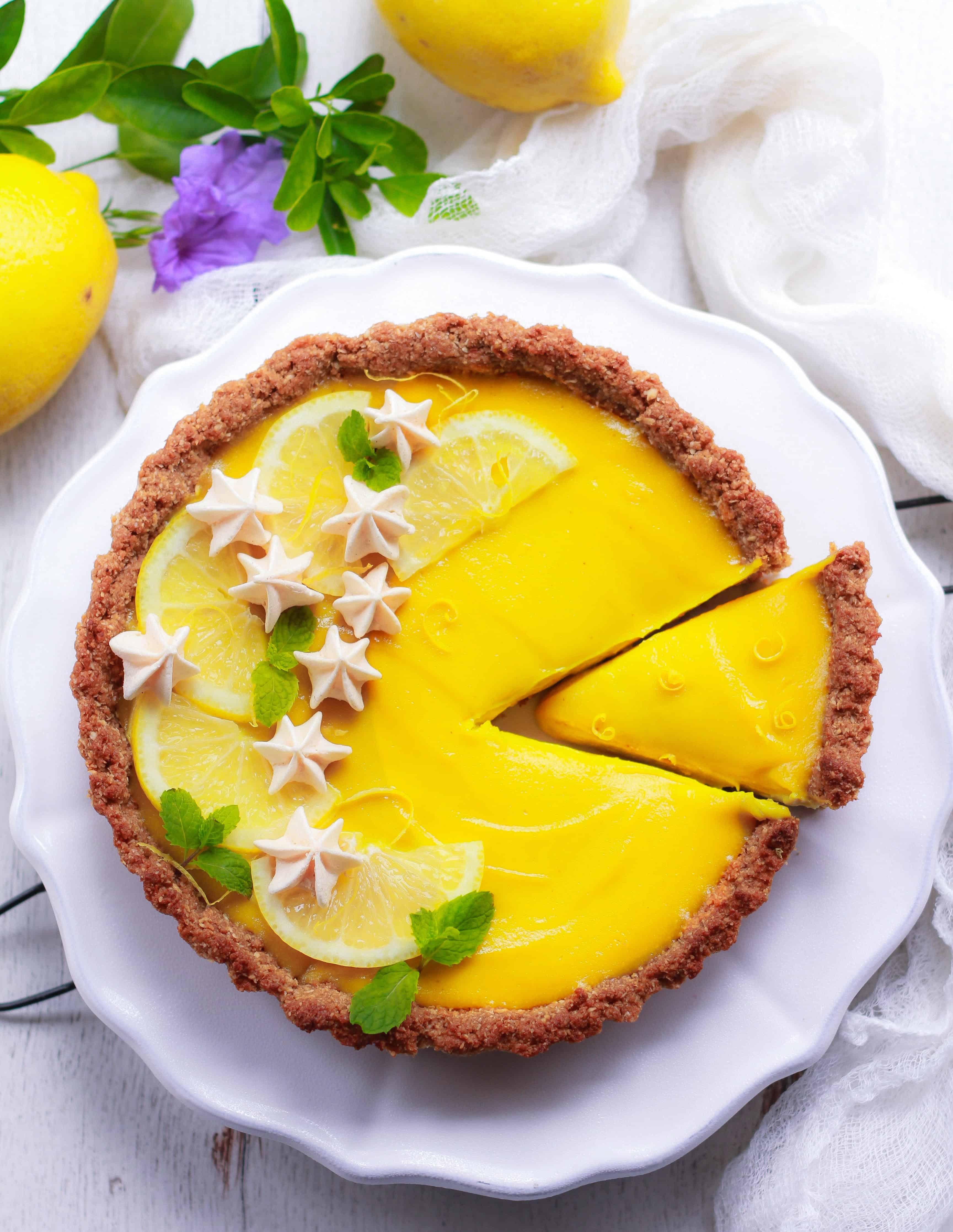 Vegan Lemon Tart