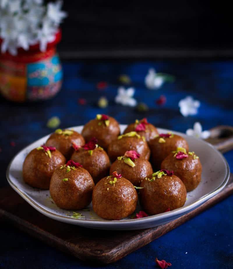 Besan Ladoo   Besan Laddu Indian Dessert
