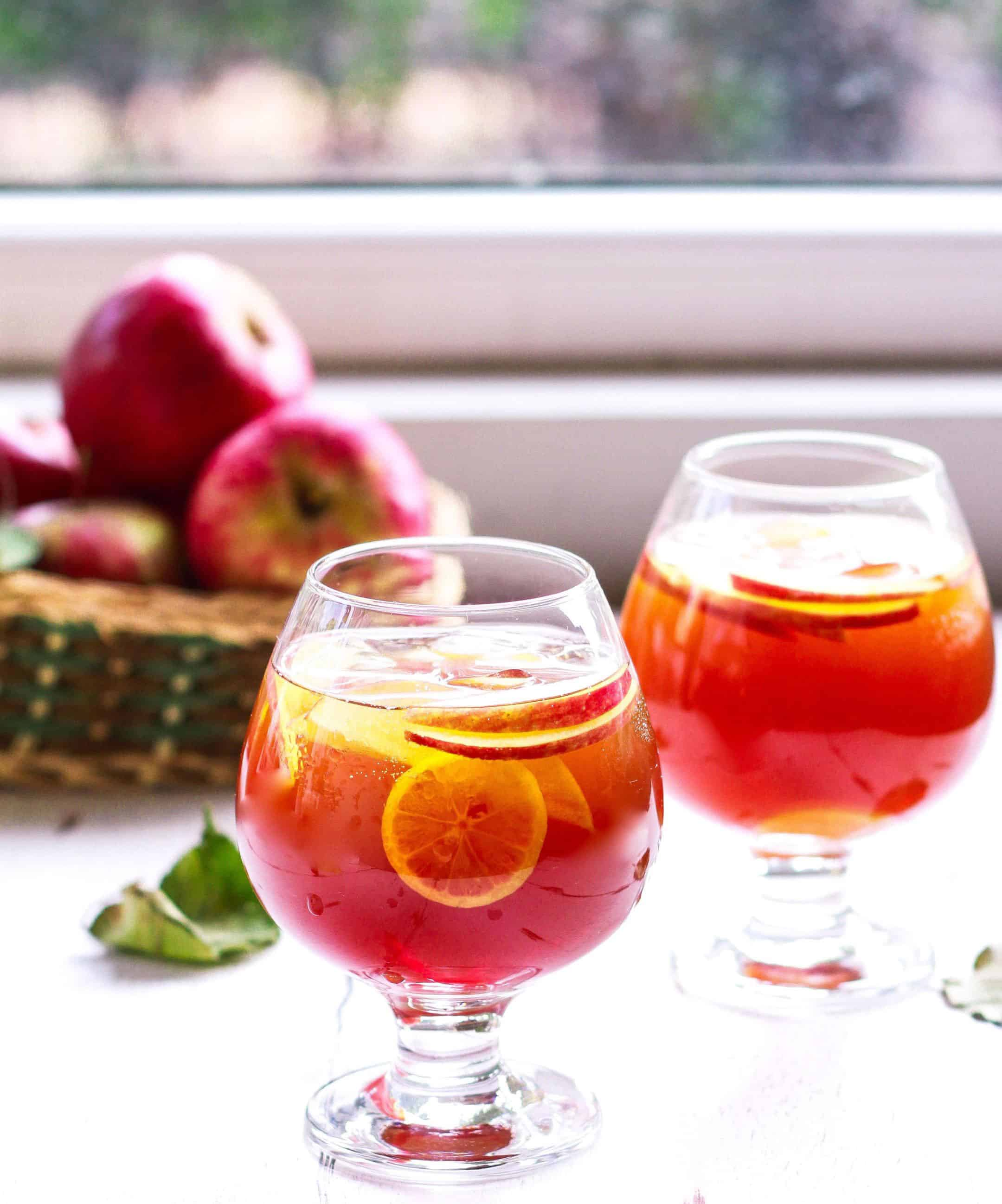 Whiskey Apple Iced Tea