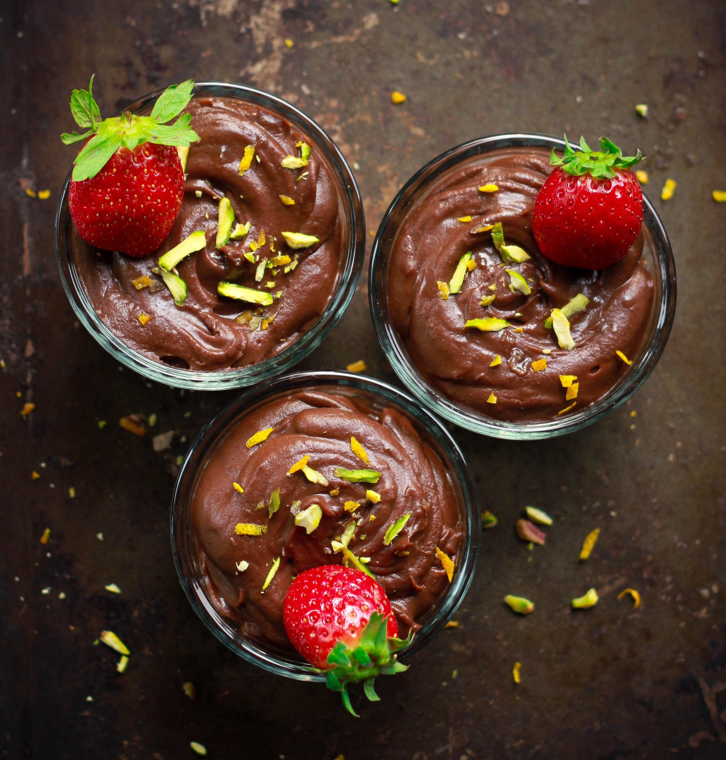 Sweet Potato Chocolate Pudding