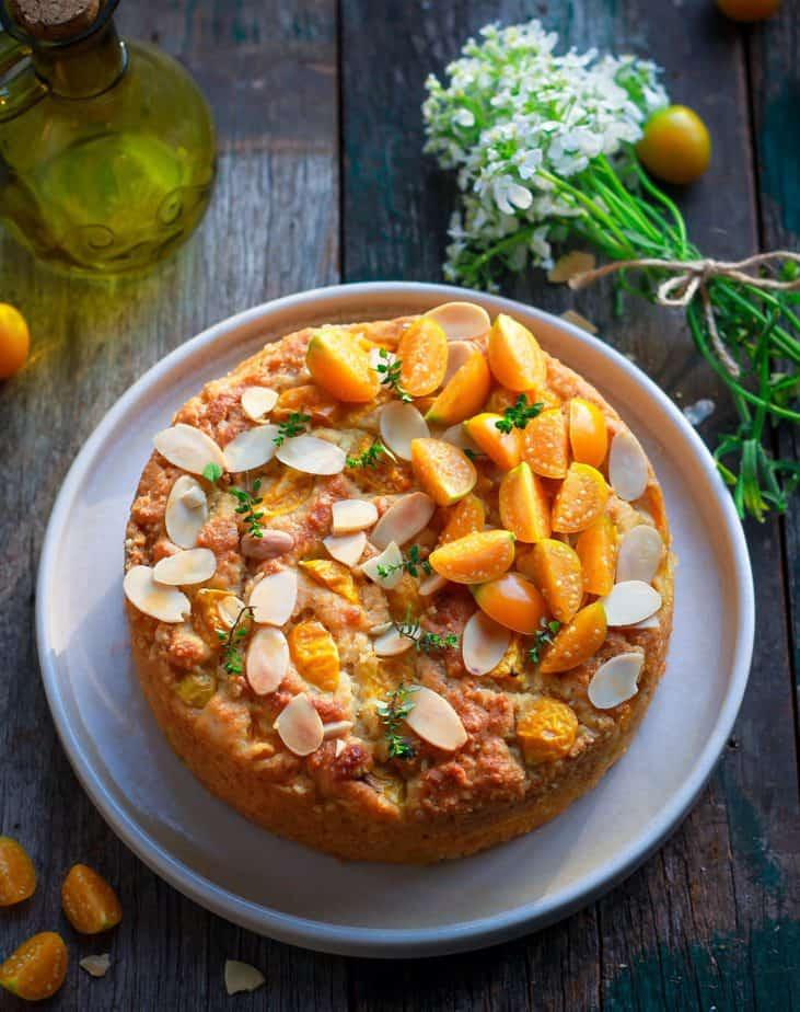 Easy Cape Gooseberry Almond Cake Eggless Wholegrain Baking