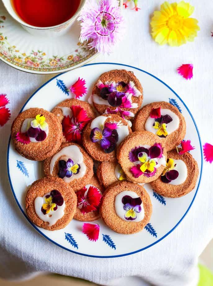 3 Ingredient Gluten-Free Shortbread Cookies