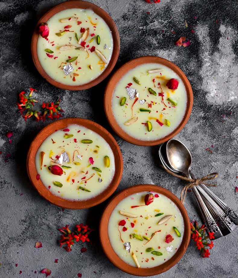 Phirni   Vegan Phirni Recipe   Indian Dessert