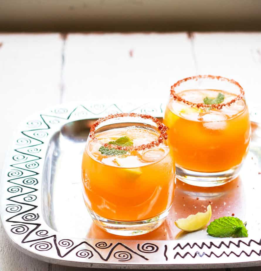 3 Ingredient Mango Margarita