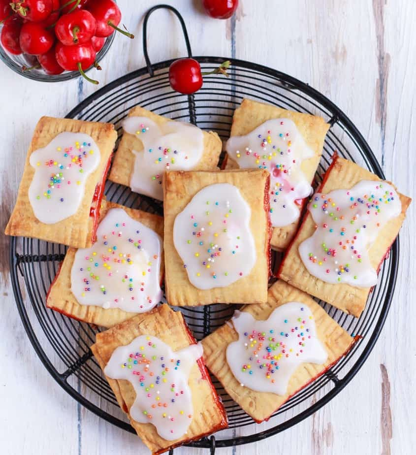 Easy Pop Tarts | Easy Homemade Pop Tarts | Eggless recipe