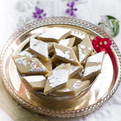 Kaju Katli | Kaju Burfi | Indian dessert