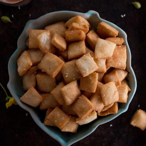 Shankarpali Recipe | Sweet Shankarpali Recipe| Shakkarpara