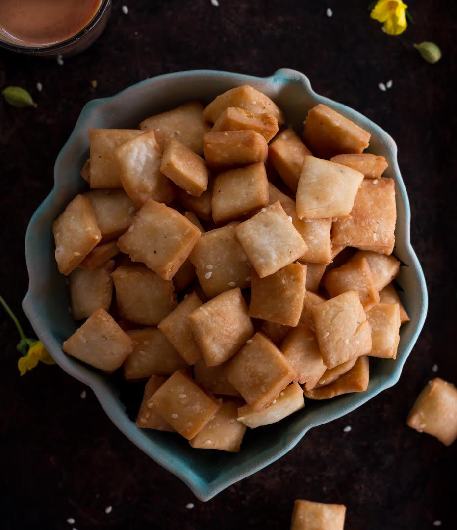 Shankarpali Recipe   Sweet Shankarpali Recipe  Shakkarpara