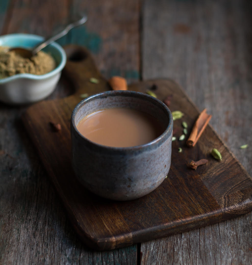 Masala tea made with Homemade Chai Masala | Easy chai spice masala recipe