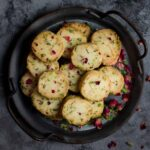Eggless Rose Pistachio Cookies | Easy Festive Cookies | Kesar pista biscuits