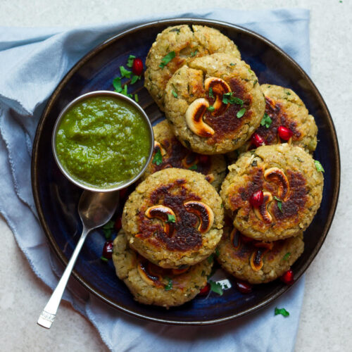 Sweet Potato Millet Cutlets | Healthy Vegan Recipe | Vrat ka Khana | Indian Fasting food