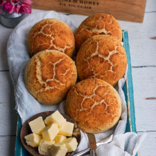 Tiger Bread Recipe | Dutch Crunch Bread
