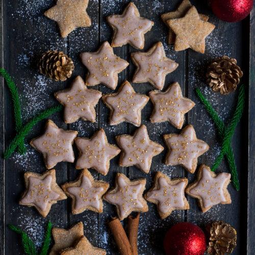 Almond Cinnamon Cookies   Easy vegan gluten-free cookies