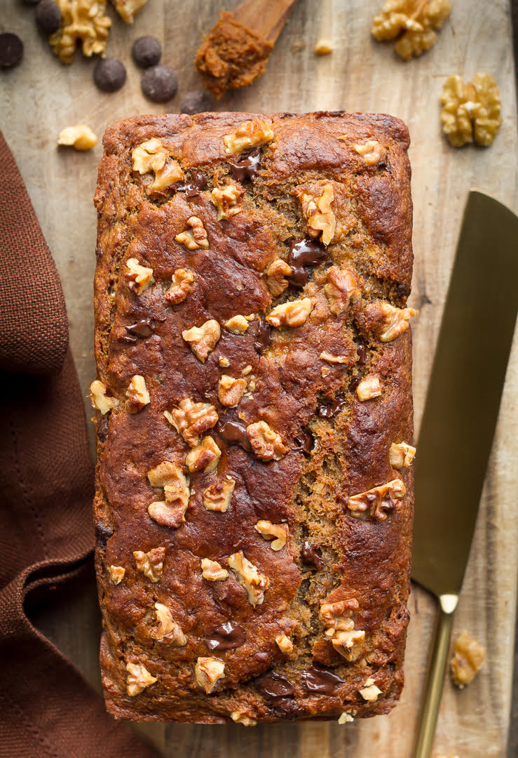 Miso Banana Bread | eggless Miso Banana Bread Recipe