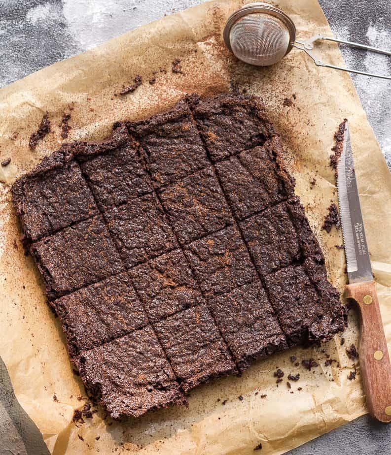 Fudgy Miso Brownies | Vegan miso brownies recipe