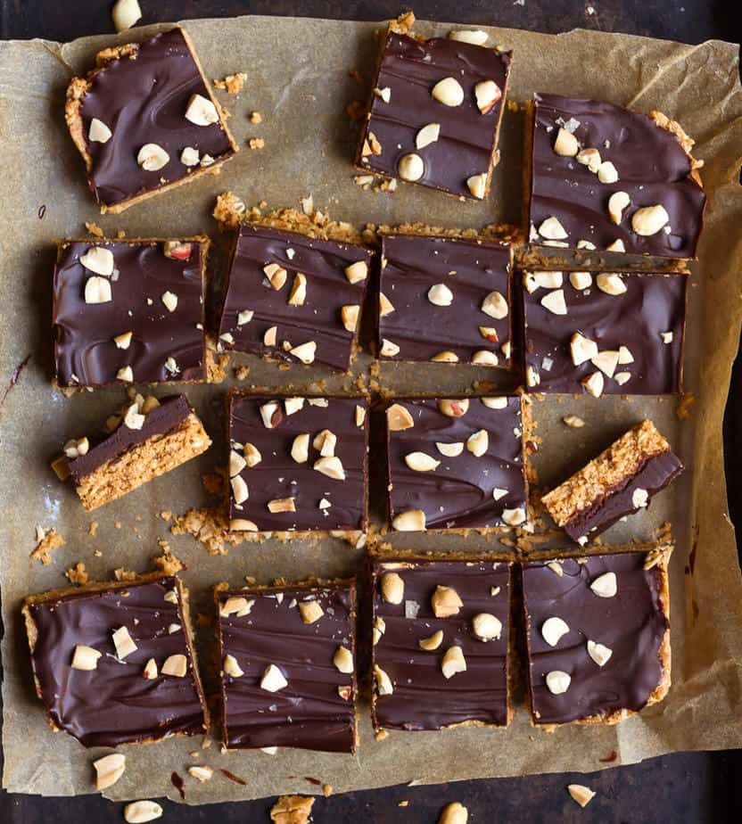 No-Bake Oatmeal Peanut Butter Bars| Easy oatmeal bars recipe