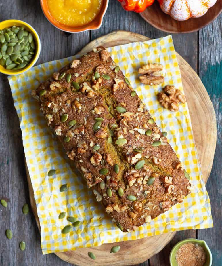Pumpkin Bread | Easy & Healthy Pumpkin Bread Recipe